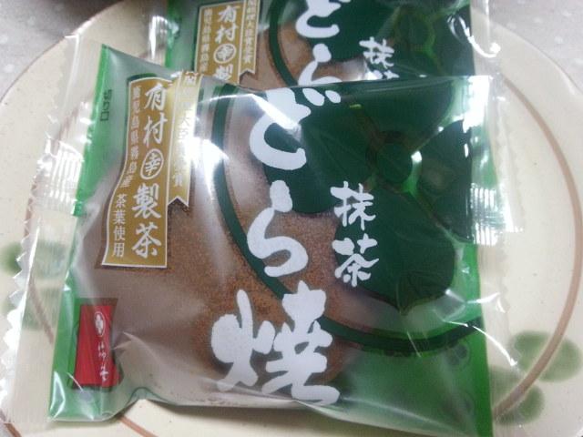 柿安  (三尺三寸箸)どら焼き 抹茶
