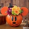 ハロウィンカラーのお花  ディズニー アレンジメント「パンプキン ミッキー」!