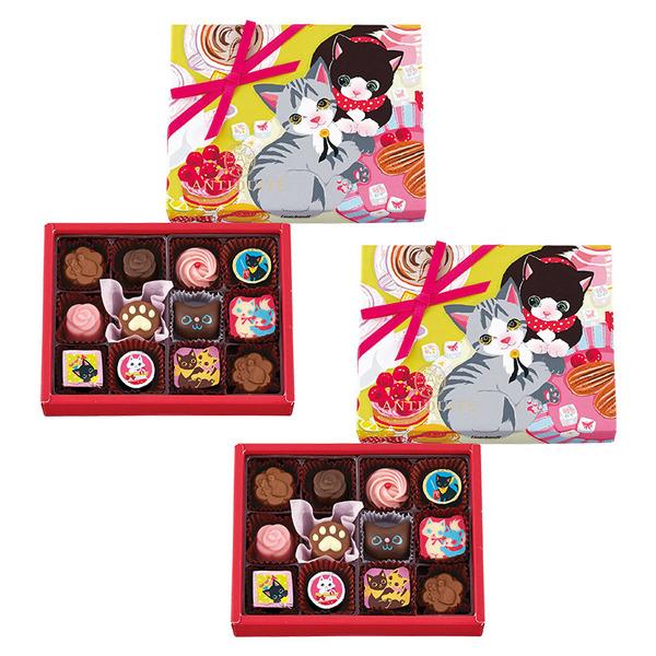 デパート スイーツ・フーズ 洋菓子 チョコレート アンティキテ(バレンタイン) 猫チョコかわいい!!! \u2013 ねこのギフト屋さん Cat\u0027s Gift  Shop