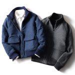 【DOPE&DRAKKAR】防風中綿リブ ZIPジャケット 4層構造で真冬もすっきりあったか!